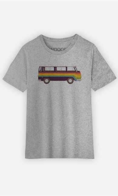T-Shirt Enfant Van Rainbow