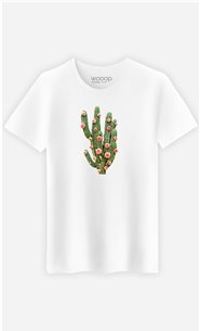 T-Shirt Homme Cactus And Roses