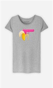 T-Shirt Femme Banana Gun