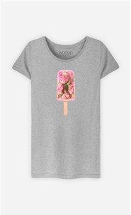 T-Shirt Femme Floral Popsicle