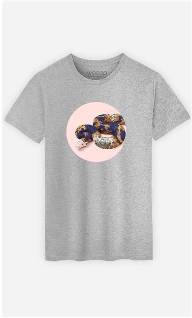 T-Shirt Homme Baroque Snake
