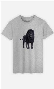 T-Shirt Homme Black Lion