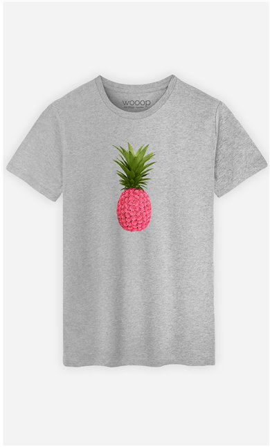 T-Shirt Homme Floral Pineapple