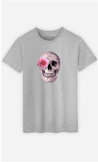 T-Shirt Homme Skull Pink