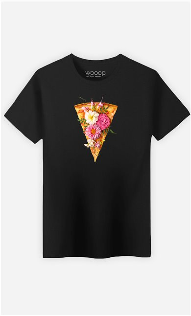 T-Shirt Homme Floral Pizza