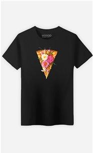 T-Shirt Homme Floral Pizza