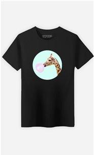 T-Shirt Homme Giraffe