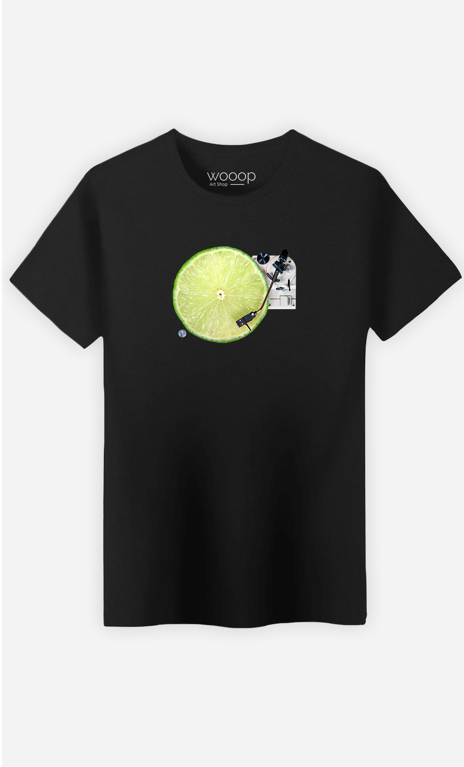 T-Shirt Homme Lemon DJ