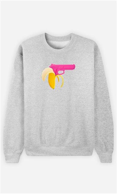 Sweatshirt Femme Banana Gun