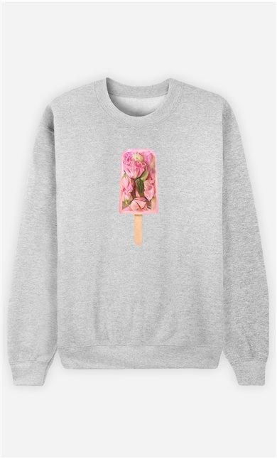 Sweatshirt Femme Floral Popsicle