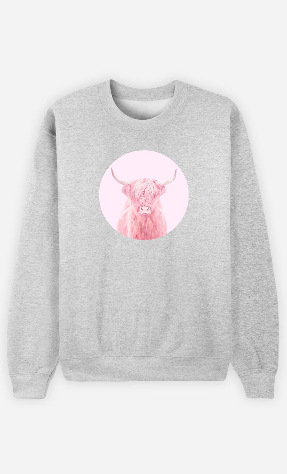Sweatshirt Femme Highland Cow