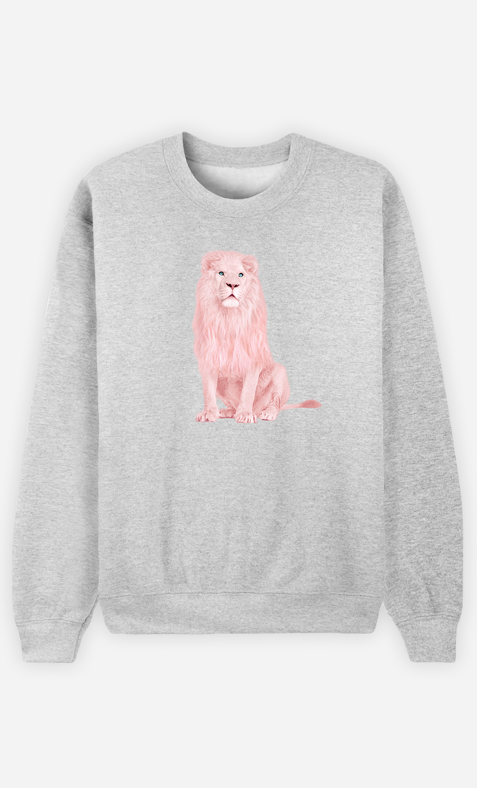 Sweatshirt Femme Pink Lion