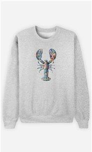 Sweatshirt Homme Floral Lobster