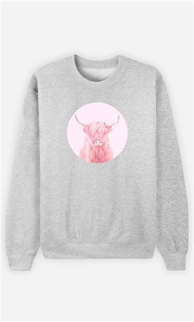Sweatshirt Homme Highland Cow