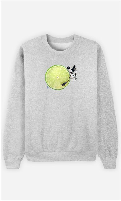 Sweatshirt Homme Lemon DJ