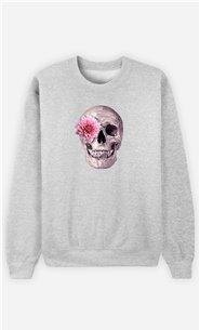 Sweatshirt Homme Skull Pink