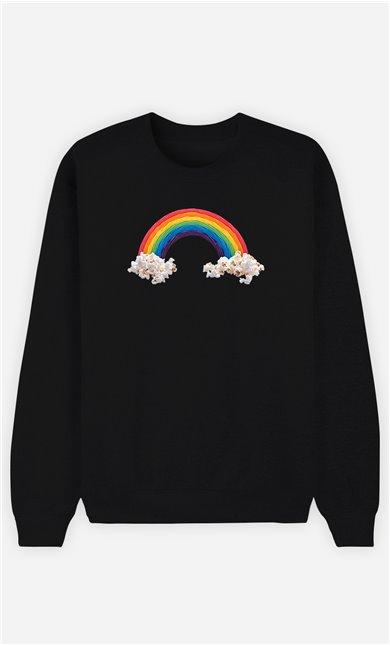 Sweatshirt Femme Candy Rainbow
