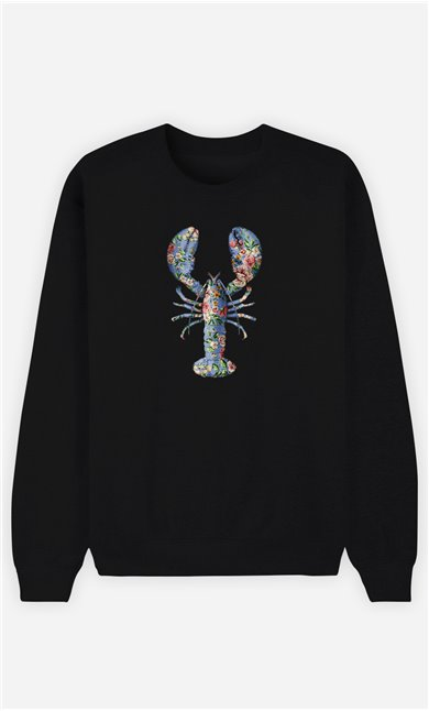Sweatshirt Femme Floral Lobster