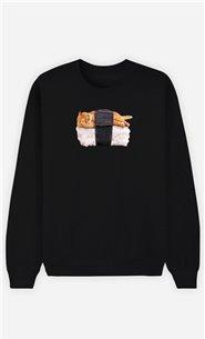 Sweatshirt Femme Sushi Cat