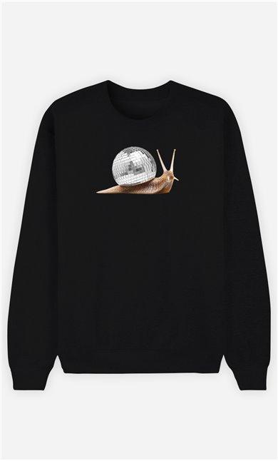 Sweatshirt Homme Disco Snail