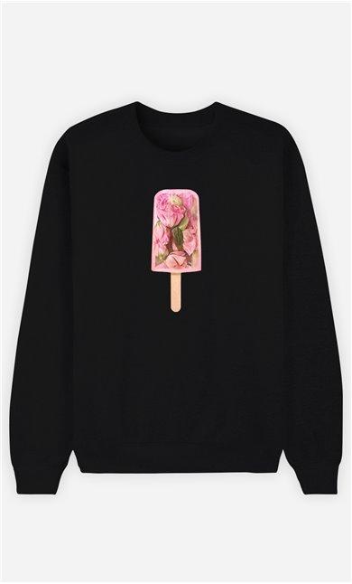 Sweatshirt Homme Floral Popsicle