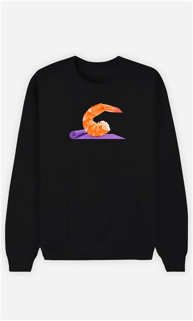 Sweatshirt Homme Yoga Shrimp