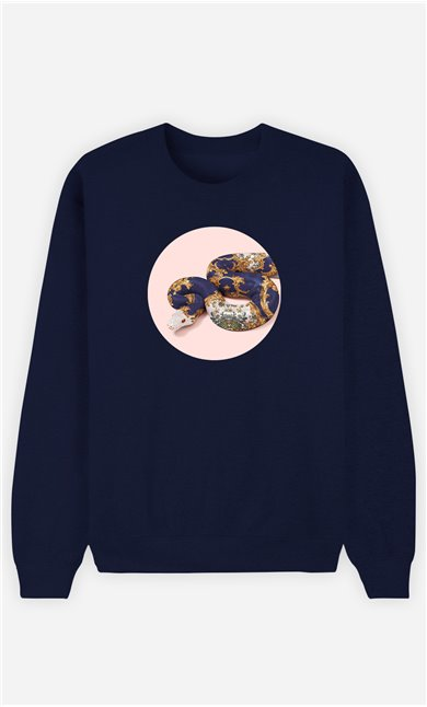 Sweatshirt Femme Baroque Snake