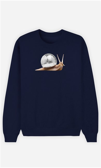 Sweatshirt Femme Disco Snail