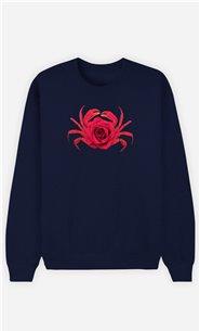 Sweatshirt Femme Rose Crab