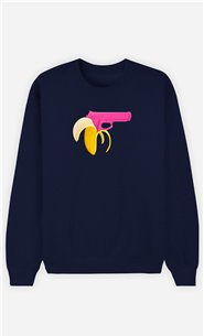 Sweatshirt Homme Banana Gun