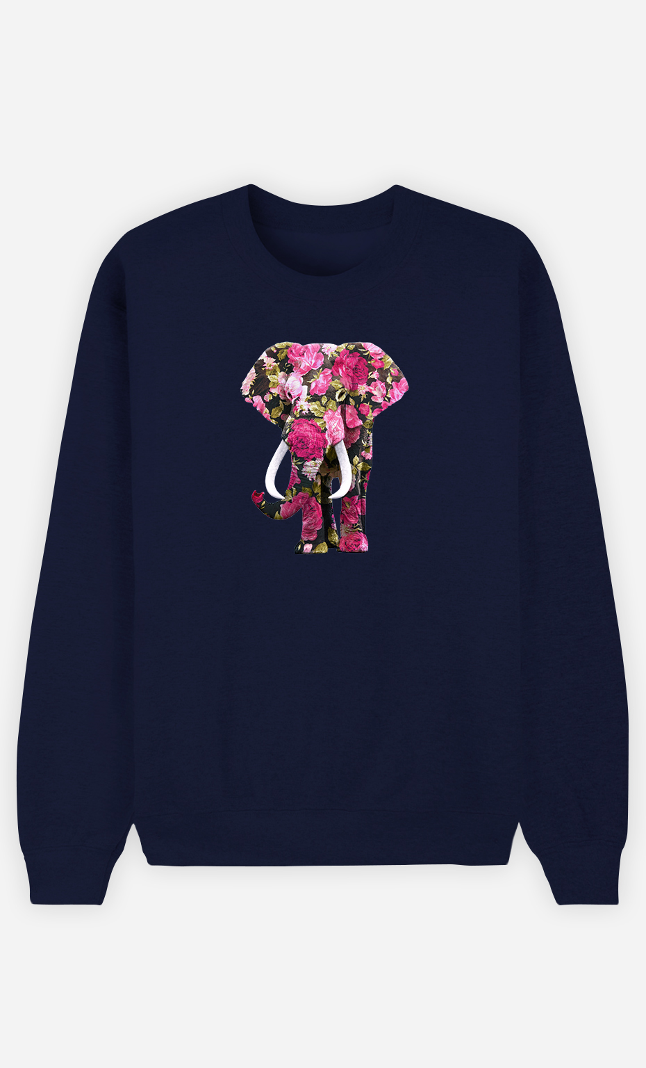 Sweatshirt Homme Floral Elephant