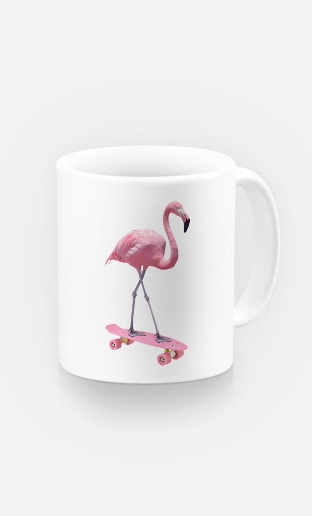 Mug Skate Flamingo