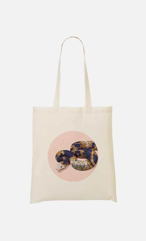 Tote bag Baroque Snake