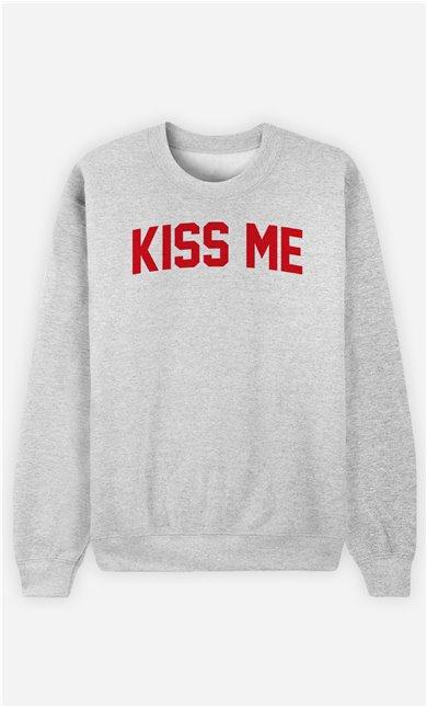 Sweatshirt Femme Kiss Me