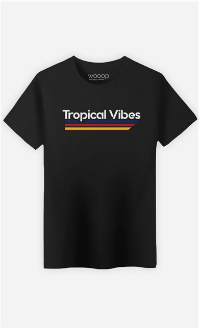 T-Shirt Homme Tropical Vibes