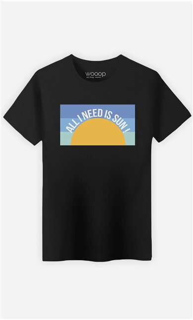 T-Shirt Homme All I Need is Sun