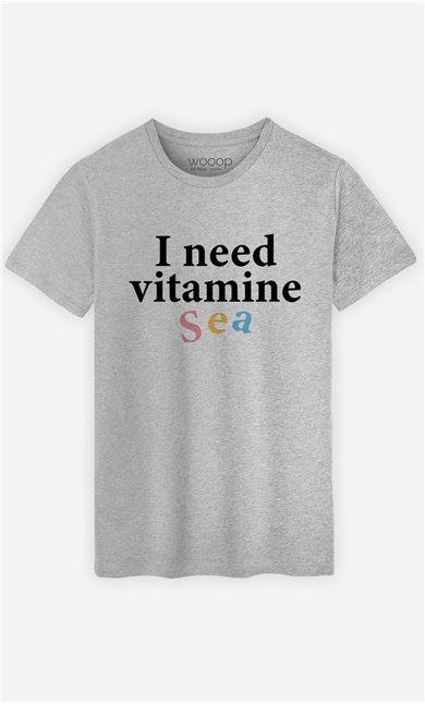 T-Shirt Homme I Need Vitamine Sea