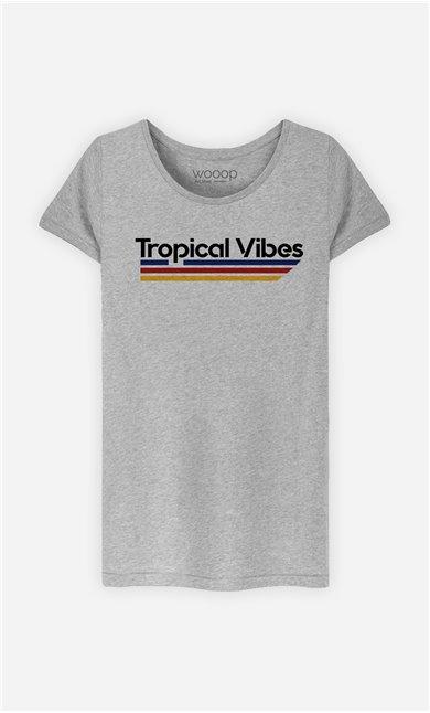 T-Shirt Femme Tropical Vibes