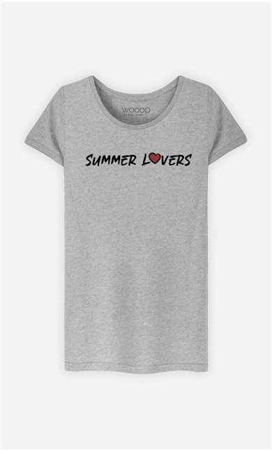 T-Shirt Femme Summer Lovers