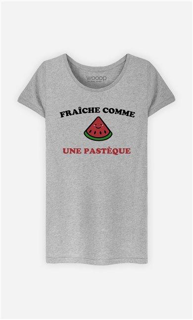 T-Shirt Femme Fraîche comme une pastèque