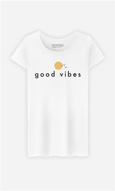 T-Shirt Femme Sunny Good Vibes