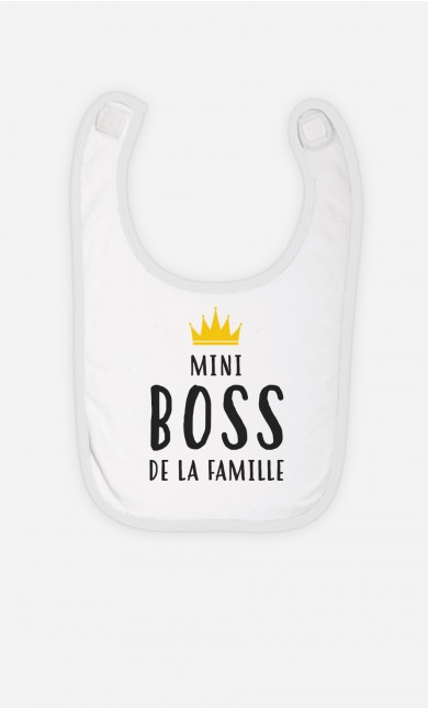 Bavoir Mini Boss