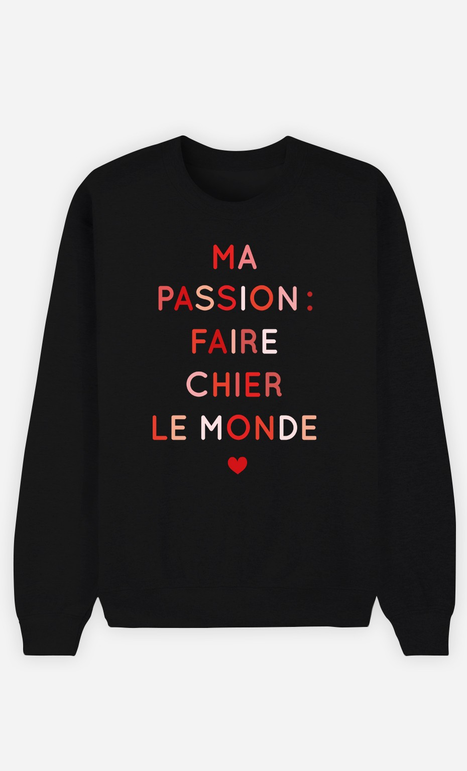 Sweat Femme Ma Passion