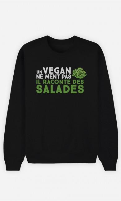 Sweat Femme Un vegan ne ment pas