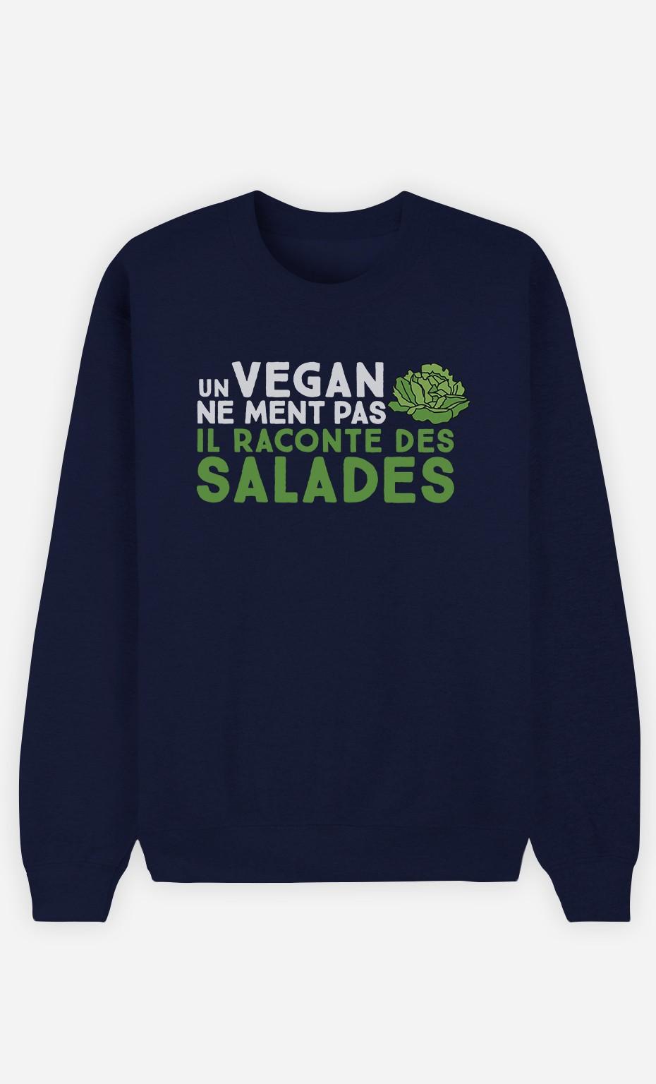 Sweat Homme Un vegan ne ment pas