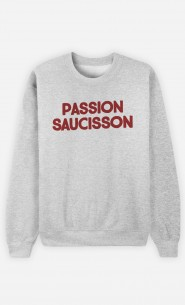 Sweat Homme Passion Saucisson