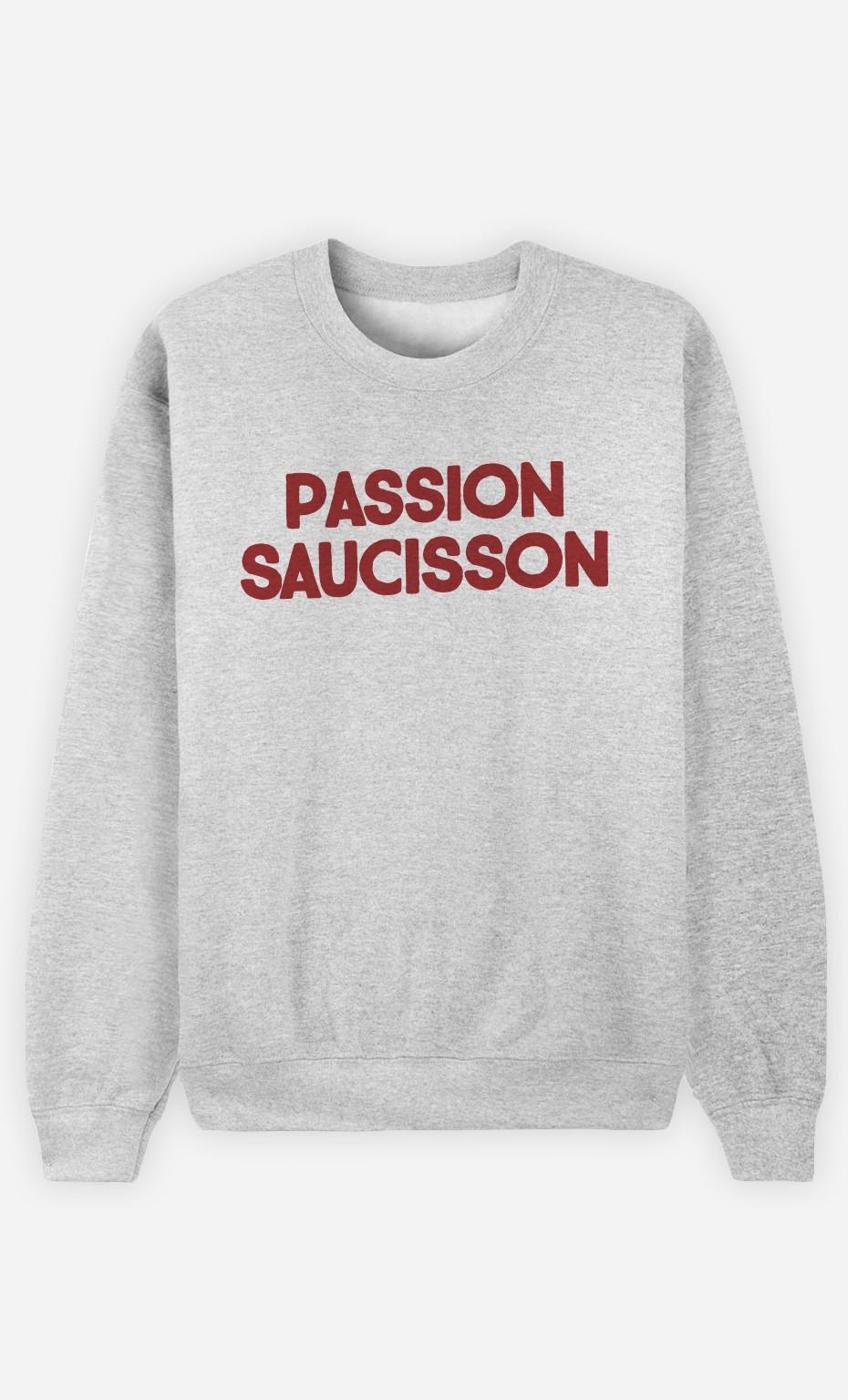 Sweat Homme Passion Saucisson