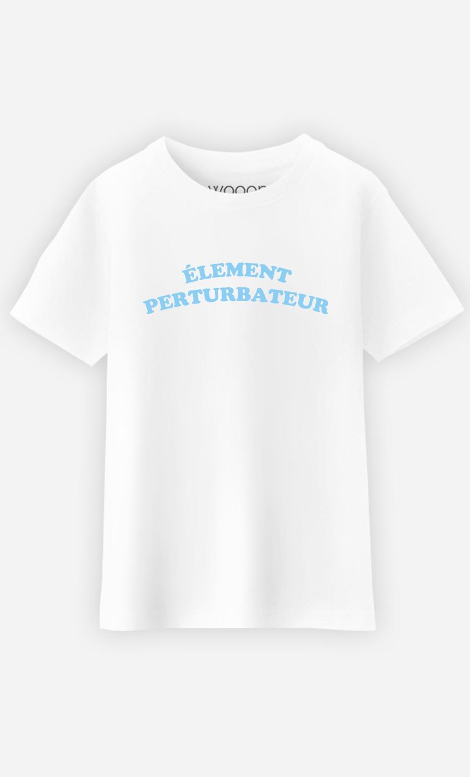 T-Shirt Enfant Enfant Elément perturbateur
