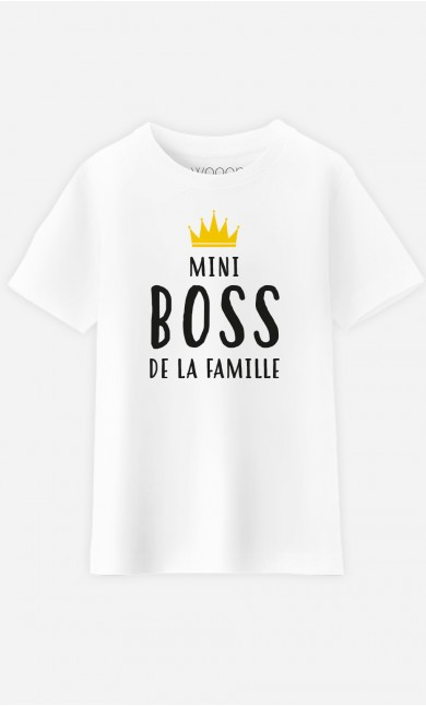 T-Shirt Enfant Mini Boss