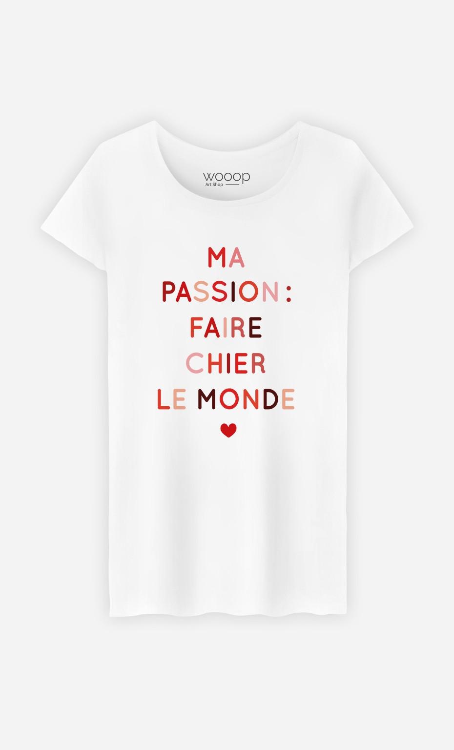 T-Shirt Femme Ma Passion